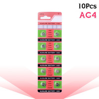 Wholesale battery ag4 377 resale online - 10 Batteries AG4 GA4 SR626 D377 LR626 LR66 SR66 Watch Coin Battery