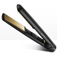 fer à lisser en céramique marques achat en gros de-9hd V Gold professionnel redresseur de cheveux US / EU / UK prise avec boîte de détail DHL Fast Ship