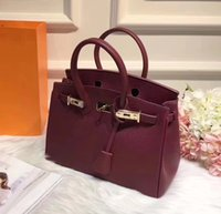 Wholesale Brand Clutch - Genuine Leather Women Handbags High-end Toolbox Designer H Brand Shoulder Crossbody Bags Travel Tote Bags And Clutches Original Box