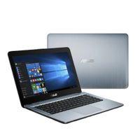 18 laptop porzellan großhandel-14 Zoll 2,7 GHz Asus Gaming Laptop 4 GB RAM 500 GB ROM Computer Ultradünne HD 1366 x 768 16: 9 PC Büro Wifi i7-7500U Notebook PC