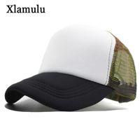 3c969984fb6 Xlamulu Mesh Sun Baseball Camouflage Caps For Men Snapback Cap Women  Casquette 5 Panel Sport Men Hats Bones Gorras MaLe Hat Caps