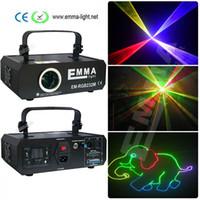 Wholesale rgb laser dmx ilda - Multicolor laser rgb 1.2w cartoon projector ILDA DMX dance pub holiday music dj bar effect Light stage Lights Show