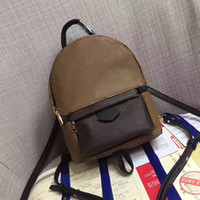 Wholesale casual backpacks resale online - back pack shoulder bag handbag presbyopic mini package messenger bag mobile phonen purse orignal real Genuine leather fashion
