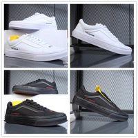 Wholesale Post Springs - 2018 VANS Old Skool Post Mortem Men Women White Black Skateboard Casual Shoes for Sneakers Women's Sports Running Shoe 35-44