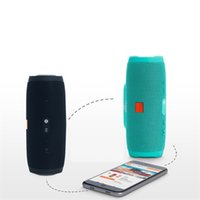 Wholesale music boxes audio resale online - Portable Wireless Bluetooth Speaker music Box Outdoor Column charge mini Speaker hi fi Sound Box with FM Radio TF Player