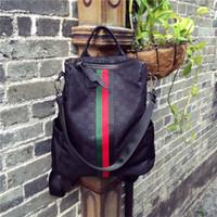 bolsas de viaje para las mujeres niñas al por mayor-Diseñador de moda Mochila Mujeres Niñas Bolsos Escolares Femenino Doble Bolsa de Hombro Bolsa de Viaje Bolsos de Las Mujeres Al Aire Libre Mochilas
