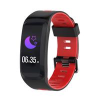 ingrosso ossigeno elettronico-Wristband del braccialetto di F4 Smart di GPS Heart RateTracker Ossigeno di pressione sanguigna di idoneità Orologio elettronico impermeabile esterno delle donne degli uomini