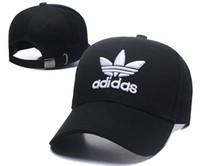 ingrosso cappello blu cappello-Cheap 2018 tutte le squadre Classic Navy Blue Bostonad Cap Ricamato squadra Oakland calcio basket Baseball On Field Sport Fit cappelli in vendita