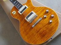 nova guitarra elétrica slash venda por atacado-Frete Grátis New Alta Slash Apetite Natural amarelo barra modelo guitarra elétrica guitarra de Alta qualidade em estoque