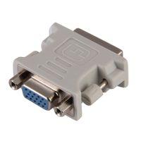 Wholesale Dual Dvi Adapter - HDTV LCD Monitor Adapter DVI to VGA Video Adapter Converter DVI-I Dual link 24+5 pin male to VGA