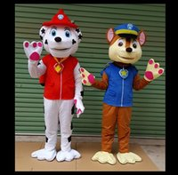 Wholesale Mascot Outfits - 2018 Air Rescue Marshall Mascot Character Costume Marshall Dog Outfits Adult Size