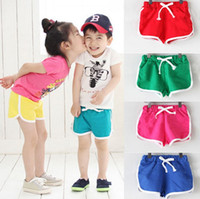 Wholesale corduroy children casual pants for sale - Hot sale summer children cotton shorts boys and girls clothes baby fashion pants kids casual shorts top quality