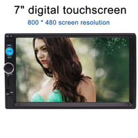 Wholesale Audio Video Speakers - Eincar Car Stereo MP5 Player 7'' TouchScreen Car Audio Video Player Double 2Din In Dash Bluetooth Car Headunit Bluetooth USB FM MP5 TF