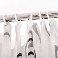 ingrosso tende alla moda-Fornito moderno elegante PEVA materiale spesso impermeabile muffa tenda della doccia 80 * 180 cm prodotti da bagno spedizione veloce B5