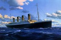 Wholesale ocean decor resale online - Titanic on ocean Handpainted HD Print seascape ship Art Oil Painting On Canvas Wall Art Home Decor Multi Sizes Frame Options skeb l121