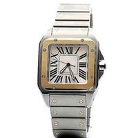 белые часы для мужчин оптовых-Ограниченное количество автомобилей Sans серии W200728G наручные мужские часы с автоматическим механизмом белое лицо 316L сталь оригинальный ремешок часы мужчины