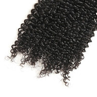 Wholesale discount hair weave extensions resale online - 9 discount Brazilian Remy Hair Weave pc Brazilian Kinky Curly Hair Human Hair Extensions