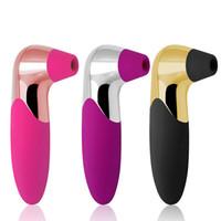 pompe de sexe oral féminin achat en gros de-Langue Léchage Sucer Vibrateur Stimulateur Clitoridien Oral Sex Toys pour Femmes Femelle Mamelon Sucker Pompe Masseur Vaginal