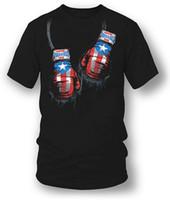 metall-boxer großhandel-Neues lustiges Marken-Kleidungs-Puerto- Ricoboxer-Hemd, Puerto Rico Stolz-böses Metall