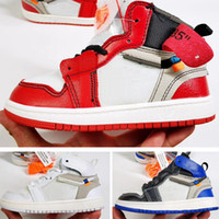 Wholesale signed shoes for sale - PreSchool Jointly Signed High OG s Youth Kids Basketball Shoes Chicago New Born Baby Infant Toddler Trainers Small Big Boys Girls Sneakers