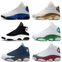 Wholesale cheap home fabric - Cheap 13 13s mens basketball shoes CP3 PE Home Captain America Flints Athletic sports sneakers women trainers running shoes for men designer