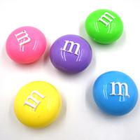 golpe de juguete al por mayor-HOT 1 UNIDS M frijoles 6 colores pueden ser no tóxicos soplando burbujas arcilla de barro de cristal puede dibujar limo Juguetes divertidos juguetes divertidos