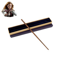 Wholesale harry potter for sale - Harry Potter Magical Wand Metal Core Hermione Granger Magic Wand Colsplay Magical Wand Christmas New Year Gift Toy For Kids