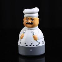 ingrosso giù orologio-Cartone animato Calculagraph flessibile Forniture da cucina Countdown Timer Alarm Count Down Chef Clock Shape Timers portatili Alta qualità 6 3qh BB