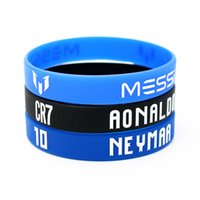 Wholesale Football Soccer Sports - New Sports Soccer Wristband Best Thailand Quality camisa de futebol Outdoor Accs Souvenirs Bracelets Wristband