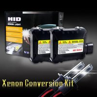 kit de bombilla h1 al por mayor-DHL 20PCS 55W H7 4300K / 6000K / 8000K / 10000K Xenon HID lámpara principal de la lámpara del xenón luz de la lámpara del coche