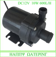 Wholesale Submersible Pressure Pump - New Mini Water Pump 12V 24V DC Solar Fountain Pump 600L H Flow Max Can be Used Submersible and Land Type