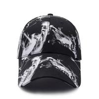 ingrosso cappelli da sole coreani per le donne-2019 New Long Hat Trend Berretto da baseball coreano Uomini e donne Coppia Street Dance Cap Sun Hat 2 Pacchetto Vendita