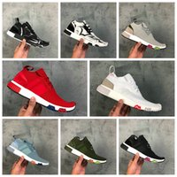 Wholesale high street fashion shoes - NMD Racer Primeknit PK Human Race Pharrell Williams Running Shoes Fashion Street Culture High Quality Outdoor Men and Women Sports Shoes