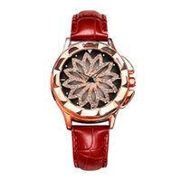 moda senhora relógios porcelana venda por atacado-Venda quente nova moda senhora relógio boa sorte possibilidade de rotação de discagem relógio china fábrica à venda