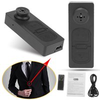 nave de la gota de la cámara al por mayor-Botón HD de la cámara S918 Mini Cámara 5.0 Mega Mini Videocámara DVR Audio Video Recorder Drop Ship Envío Gratis