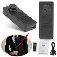 düğme kameraları ses toptan satış-HD Düğme kamera S918 Mini Kamera 5.0 Mega Mini Kamera DVR Ses Video Kaydedici Bırak Gemi Ücretsiz Kargo