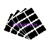 kara tahta etiket çıkartmaları toptan satış-Blackboard Craft Mutfak Kavanoz Organizatör Etiketleri Kara Tahta Tebeşir Kurulu Çıkartmalar Siyah Şişe DIY Stiky Çıkartmalar QW8045