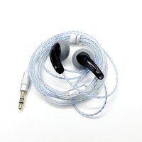 fiş kulaklık diy toptan satış-Yeni FENGRU DIY EMX500S Kulak Kulaklık Düz Kafa Fiş DIY Kulaklık HiFi Bas Kulaklıklar DJ Kulaklıklar Ağır Bas Ses Kalitesi