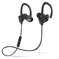 ingrosso telefoni blu android-Cuffie Bluetooth V4.1 Auricolari Bluetooth stereo senza fili per auricolari In-Ear con microfono per iOS e Android Cell phone-Blue Spedizione gratuita