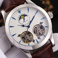 Wholesale tourbillon watches steel - Brand Watches Hot Sell Mens Watches Luxury Watches Automatic Mechanical Wristwatches Tourbillon Hollowed Out Fashion Men Watch