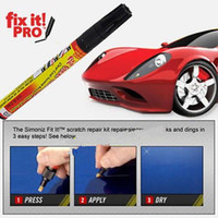 Wholesale clear car scratch resale online - Car Scratch Repair Remover Pen Coat Applicator For Simoniz Fix It Pro Clear car tools FFA461