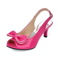 6348dc5940 sandálias baratas frete grátis venda por atacado-Sandálias das mulheres  baratos Patente De Couro Peep
