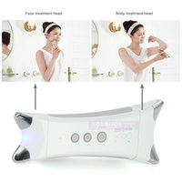 Wholesale home galvanic machine resale online - EMS Slimming Machine Portable Handheld Galvanic Body Shaping Device For Legs Arms Face Lifting Wrinkle Removal Home Use