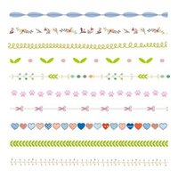 Wholesale book tapes - Masking Tape DIY Decoration Scrapbooking Tape DIY Book Wall Paper Stickers