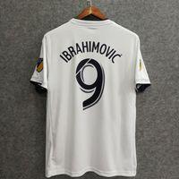 Wholesale Names Galaxies - ^_^ Wholesales 2018 Galaxy soccer jerseys home away fans version custom name number Ibrahimovic 9 football clothing football shirts