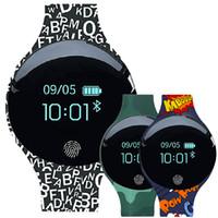 akıllı dokunmatik ledli saat toptan satış-Spor Akıllı İzle Erkekler Kadınlar Pedometre Bluetooth Ekran Dokunmatik LED Açık Spor Akıllı Koşu İzle Desteği Android IOS