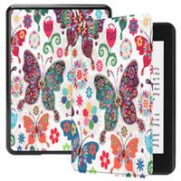 amazon folio großhandel-Intelligente Abdeckung PU Ledertasche für neue Kindle Paperwhite 2018 Tablet Auto Schlaf aufwachen Haut Shell für Amazon Kindle Paperwhite 4 6