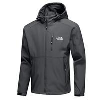 durmak toptan satış-Yüksek Kalite Erkek Açık 2019 Yeni Ceketler Bahar Sonbahar Katı Renk Rüzgarlık Ince Rahat Rüzgarlık Adam için Yaka Kapüşonlu Mont Standı