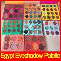 Wholesale Hot Egypt - 2017 Hot Masquerade Palette Egypt Eyeshadow Palette Zulu Eyeshadow 16 color 12 color 6 color blush high quality Free shipping