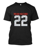 ingrosso cantiere art-New MEAN MACHINE 22 The Longest Yard Movie Le arti marziali combattono t-shirt taglia S-5XL